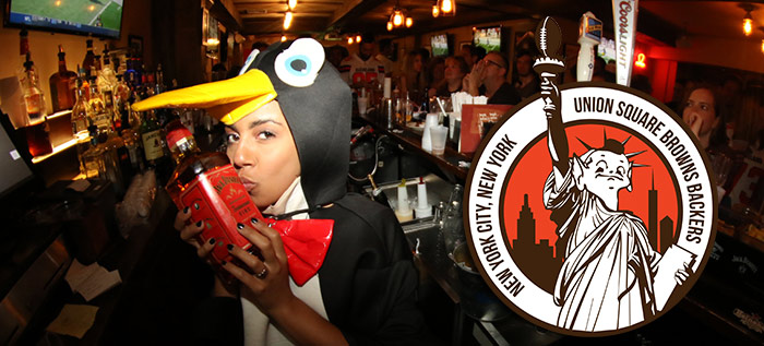 shot penguin nyc browns backers brother jimmys union square