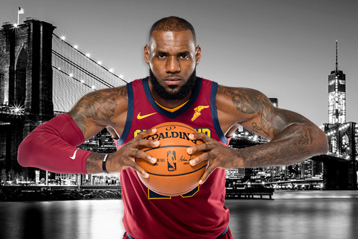 Lebron James Cavs Nets Game