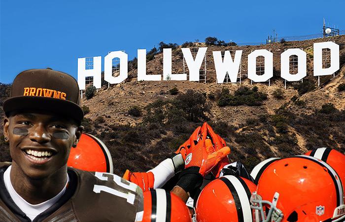 Josh Gordon Los Angeles Browns Backers