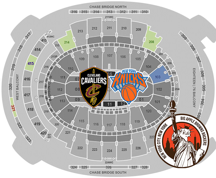 Discounted Cavs Vs Knicks Tickets At Msg Special For Browns