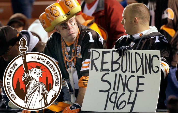 cleveland browns fans draft party nyc 2018