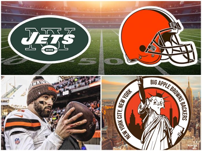Cleveland Browns NY Jets Big Apple Browns Backers NYC