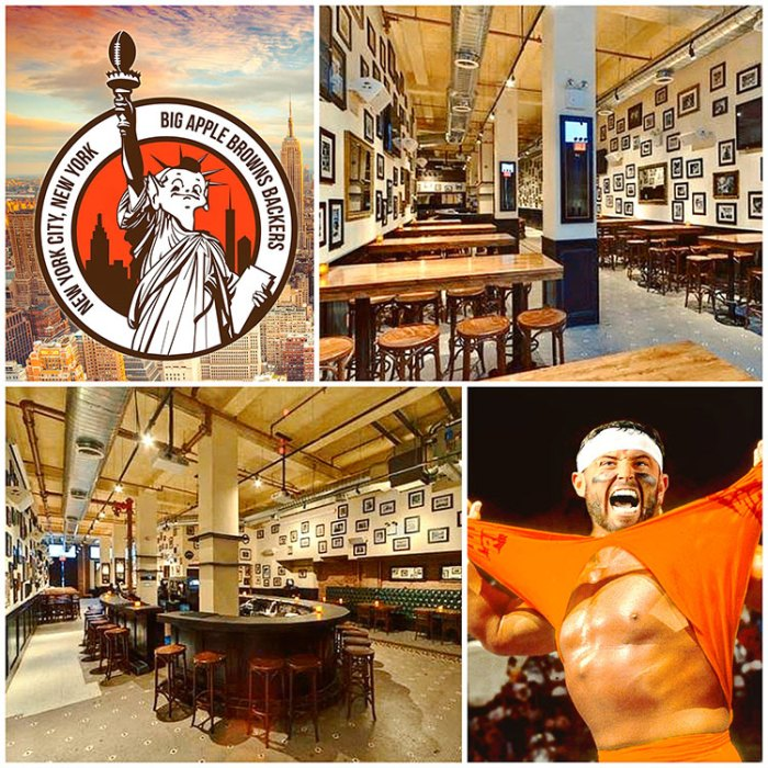 Big Apple Browns Backers Bar in NYC: The Liberty Bar